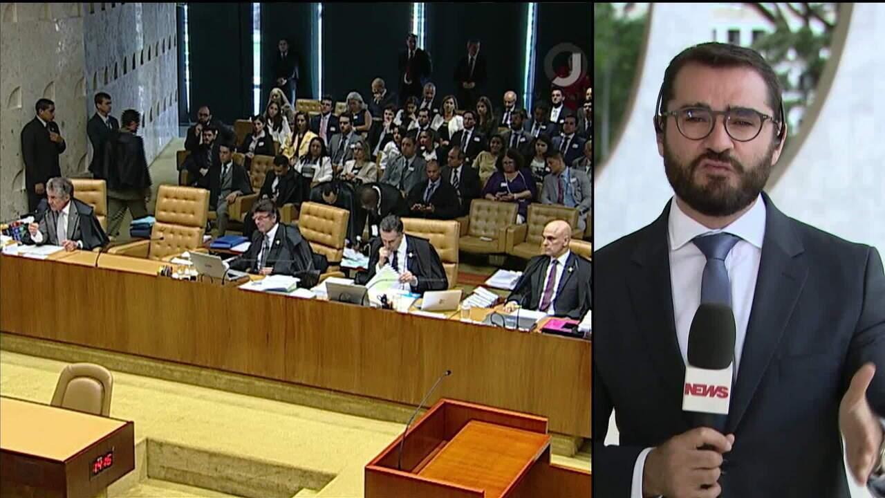 Maioria do STF vota a favor de restringir foro privilegiado