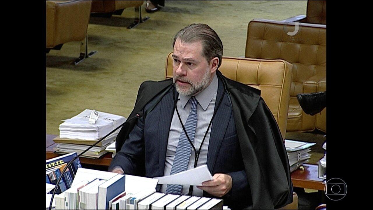 Dias Toffoli pede vista e, com isso, a decisão desta quinta (23) não entra em prática