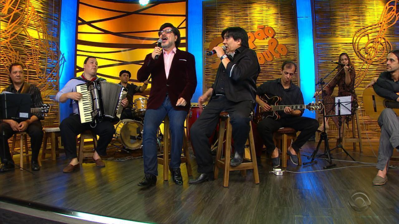 Daniel Torres e Sérgio Rojas apresentam 'Un Vestido Y um Amor' no 'Galpão' (bloco 3)