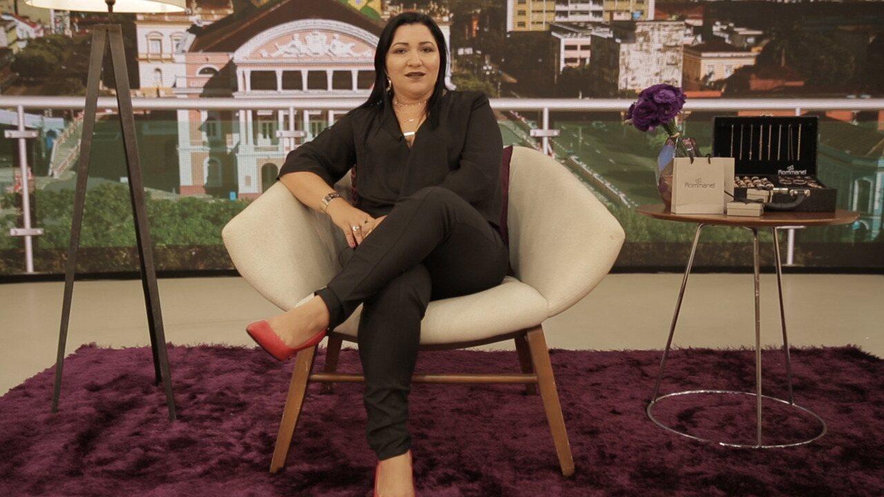 Luciélia revela como conseguiu mudar de vida com a Rommanel
