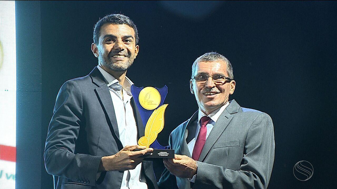 TV Sergipe e G1 vencem as principais categorias do Prêmio Sincor de Jornalismo