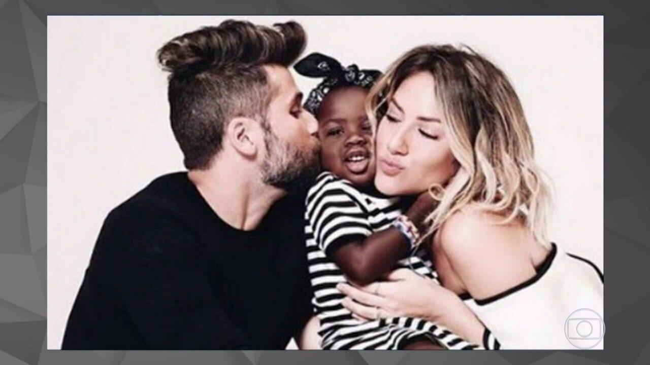 Bruno Gagliasso e Giovanna Ewbank vão prestar queixa de racismo contra a filha deles