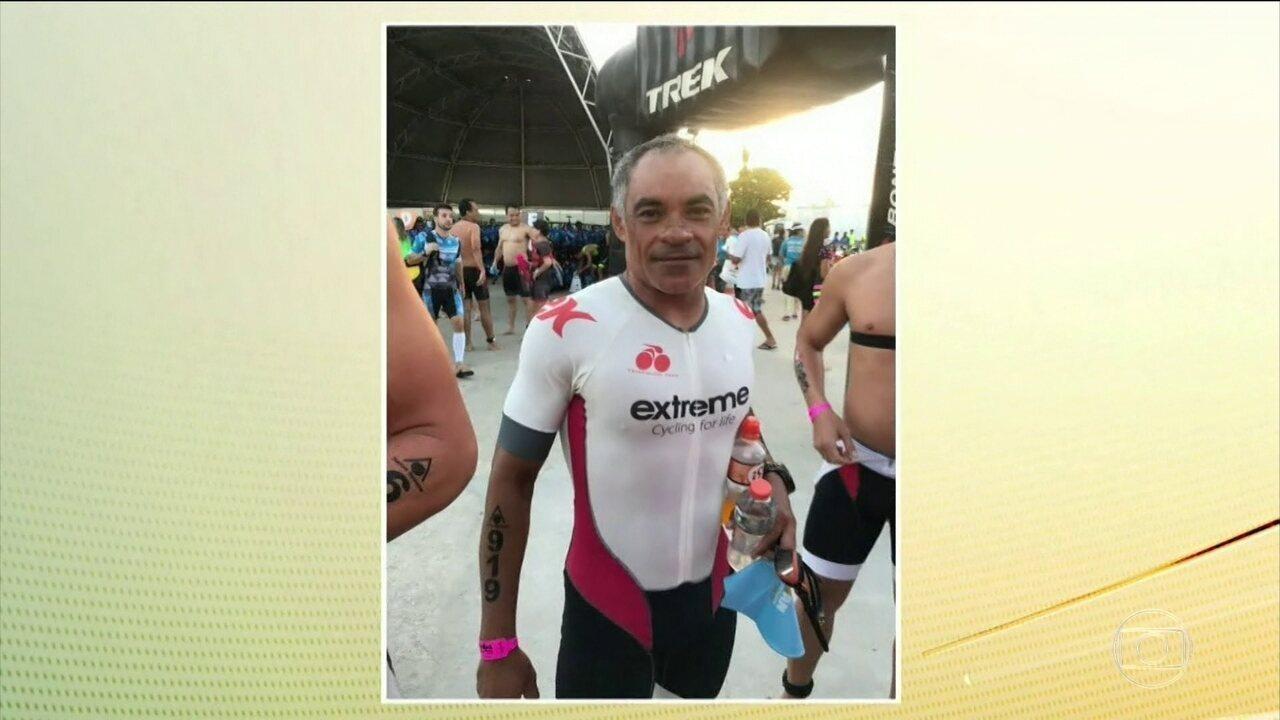 No CE, buscas por triatleta desaparecido são retomadas
