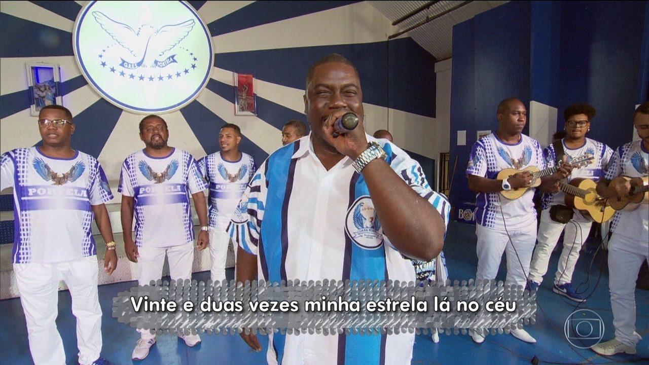 Milton Cunha apresenta o samba enredo da Portela