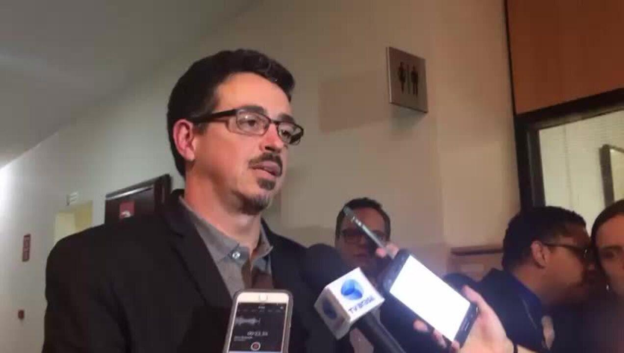 O ministro da Cultura, Sérgio Sá Leitão, durante entrevista sobre o carnaval do Rio