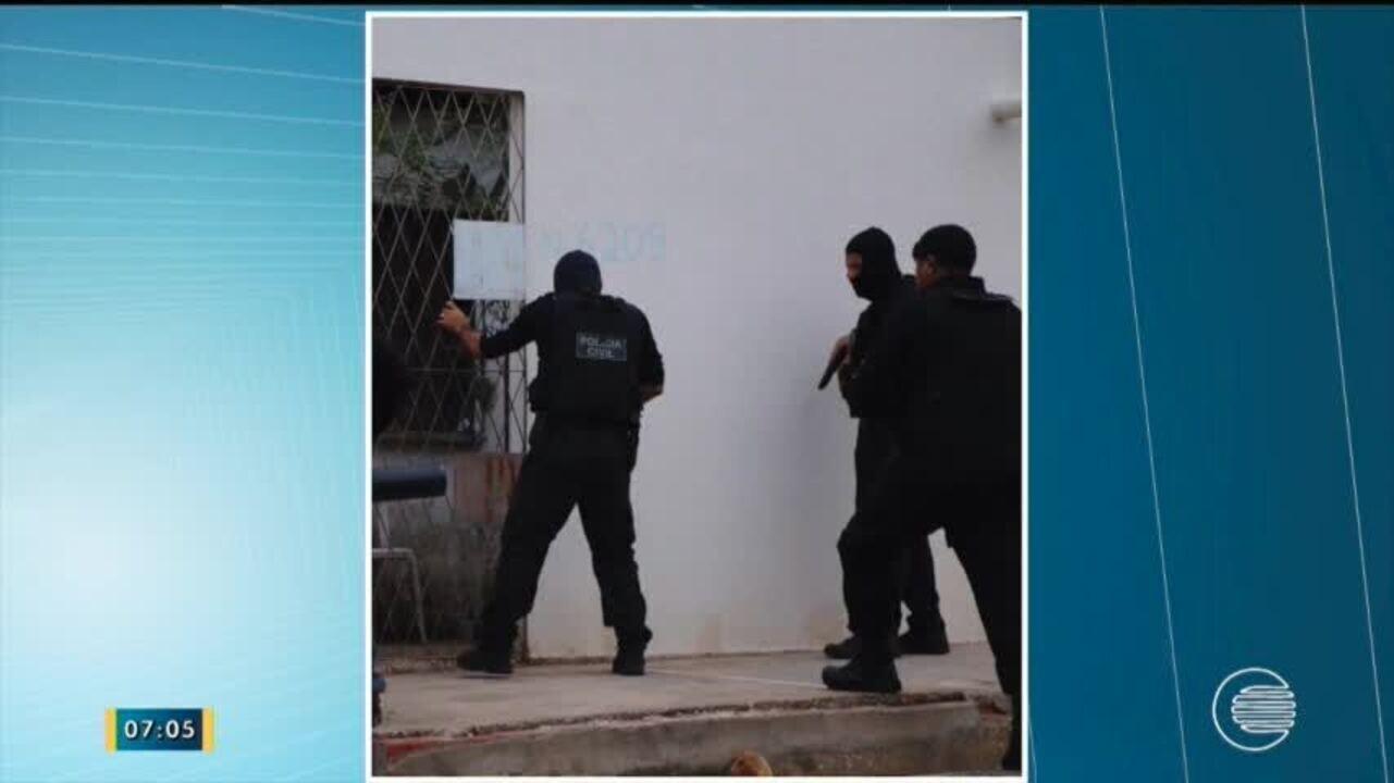 Operação Refranata da Policia Civil cumpre 42 mandados contra o crime organizado