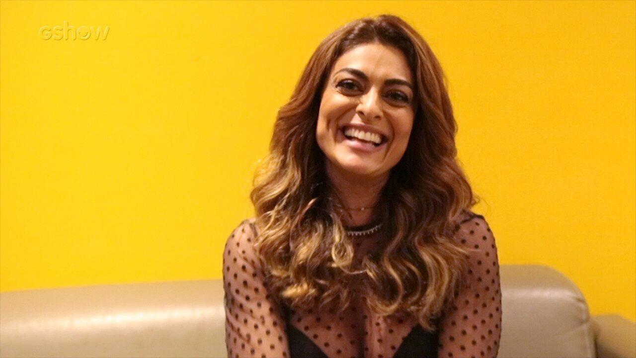 Juliana Paes afirma que maturidade ajudou a entender sua relação com a beleza