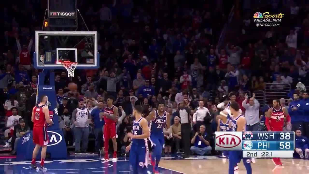 Ben Simmons explode com 31 pontos e 18 rebotes em vitória dos Sixers sobre os Wizards