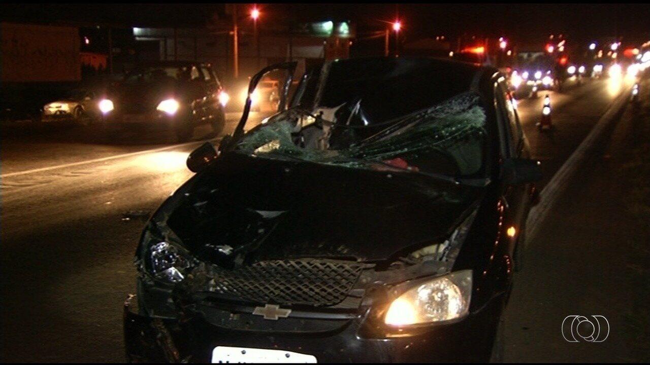 Duas pessoas morrem atropeladas em acidentes na BR-040 em Luziânia