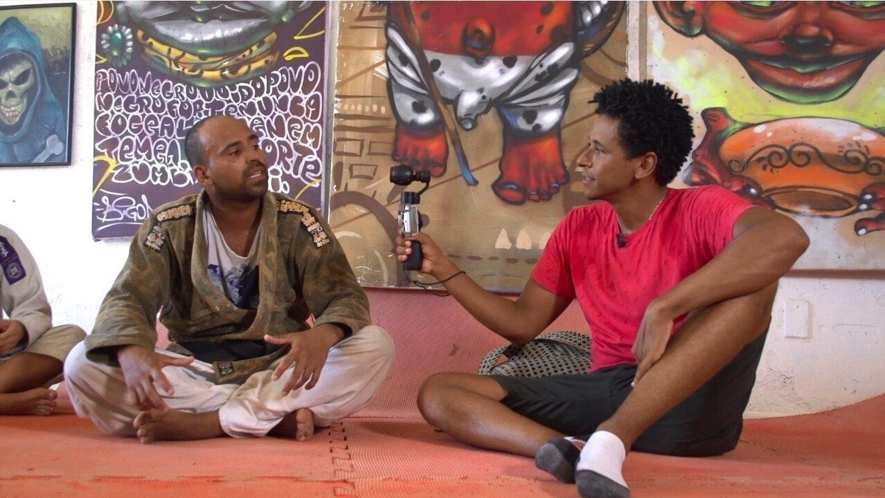 O 'Vumbora' conhece os projetos sociais e culturais da Ladeira da Preguiça