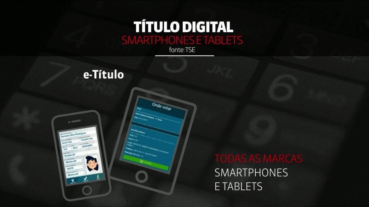 TSE lança título de eleitor digital