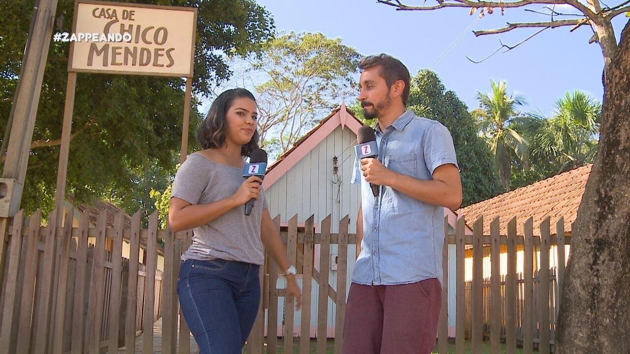 Parte 2: No município, apresentadores visitam a casa de Chico Mendes