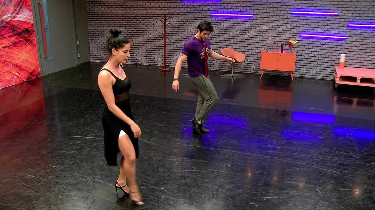 Confira o ensaio de Maria Joana para o 'Dança 2017'