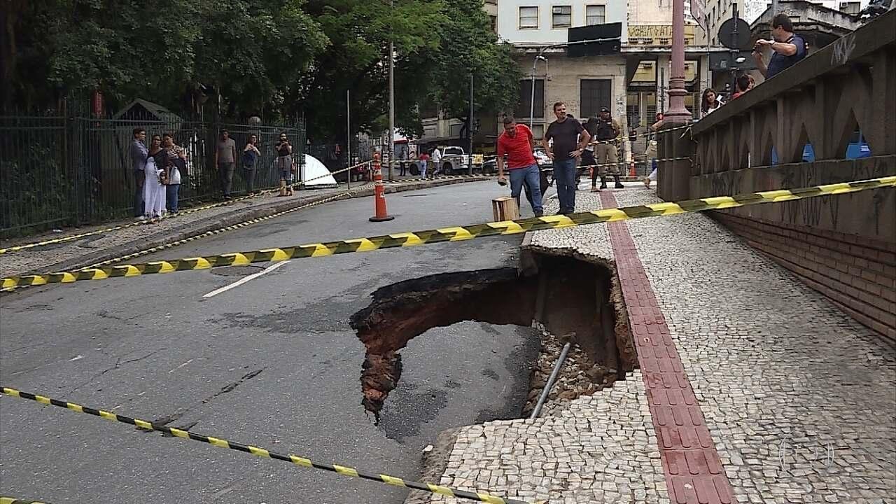 Chuva volta a provocar estragos em Belo Horizonte