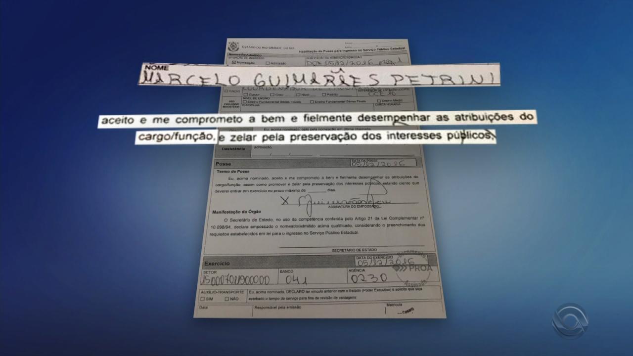 Nomeado servidor público do RS, advogado recebe mais de R$ 4 mil e não trabalha