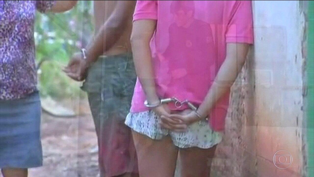 Policiais de Mato Grosso fazem operação contra traficantes