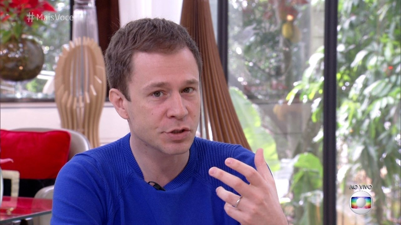Tiago Leifert revela como descobriu o transtorno alimentar da mulher