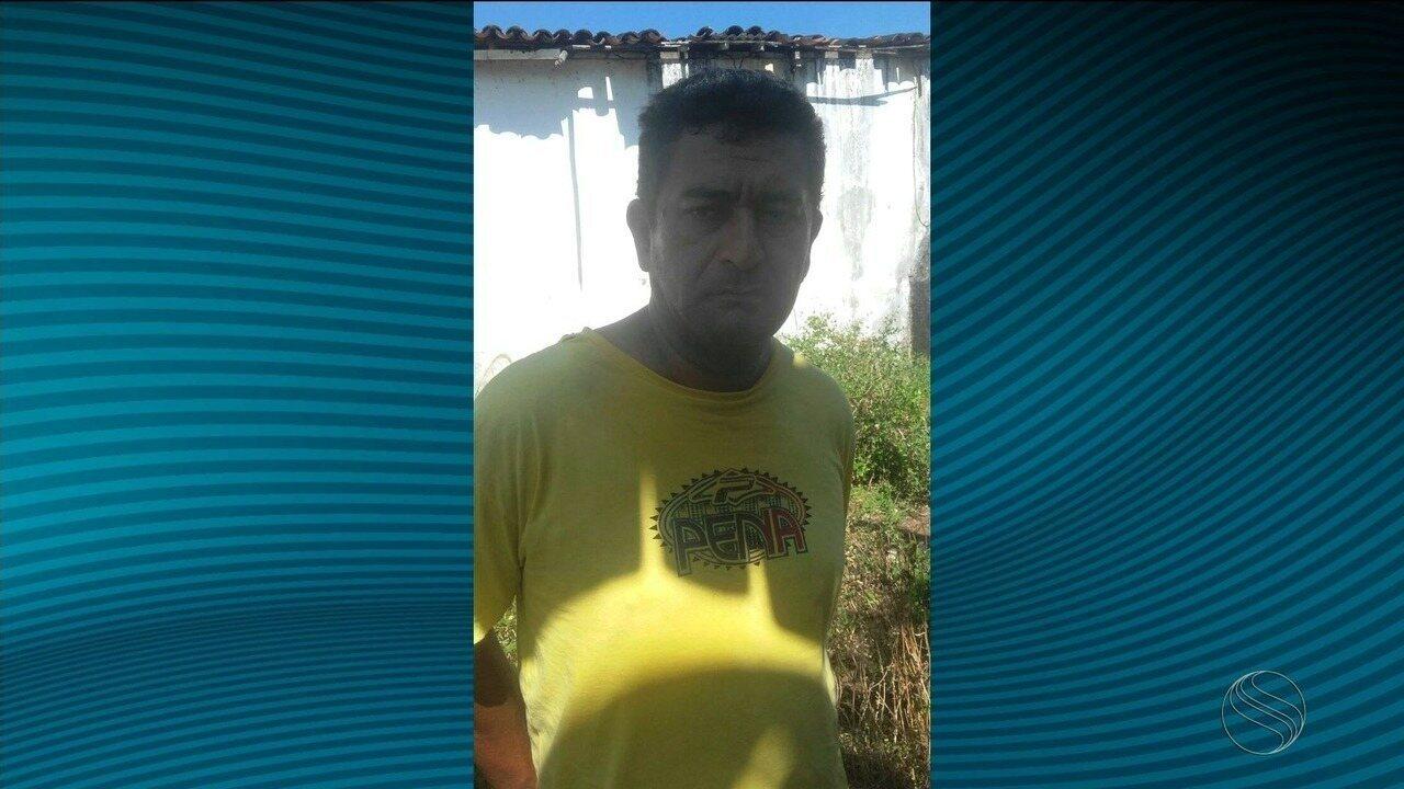 Suspeito foi preso na cidade de Malhador