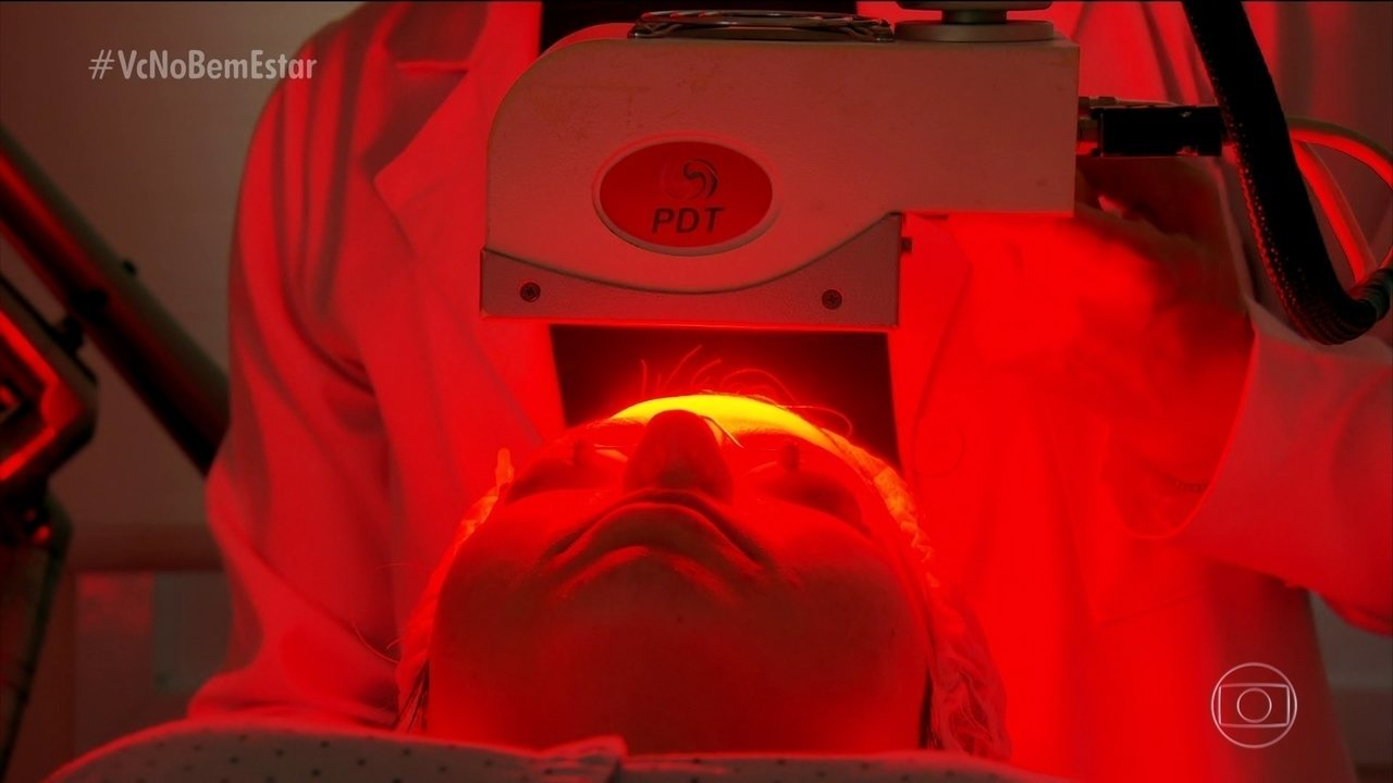 Luz de Led é usada em tratamentos dermatológicos e pode curar casos bem graves