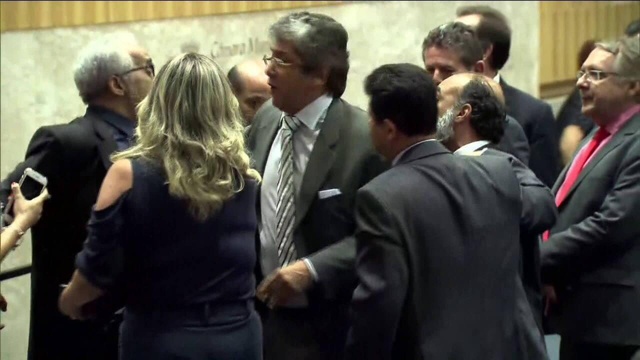 Vereadores de São Paulo brigam no plenário da Câmara Municipal