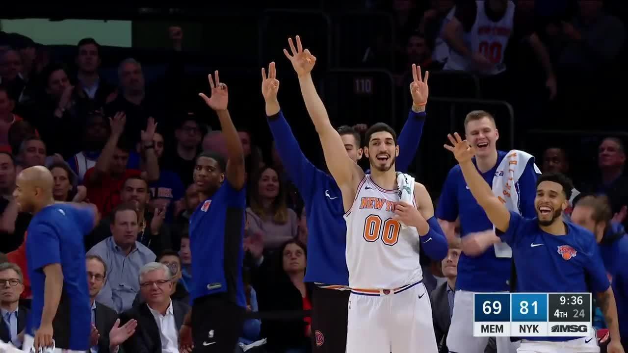 Melhores momentos de New York Knicks 99 x 88 Memphis Grizzlies pela NBA