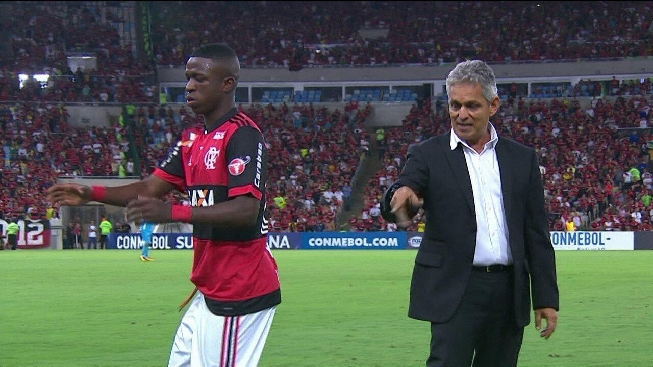 Vinicius Junior fica em campo, em média, 27 minutos por jogo