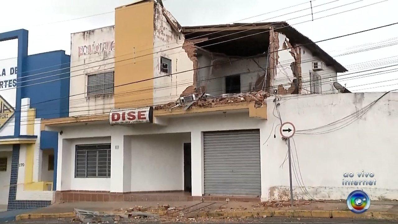 Polícia Civil investiga explosão na sede da Dise em Fernandópolis