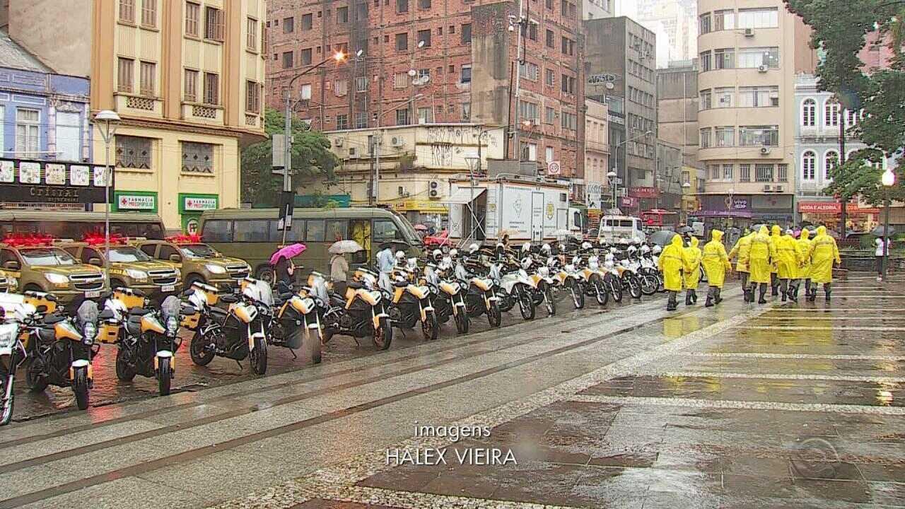 Policiamento é reforçado em Porto Alegre em operação Papai Noel