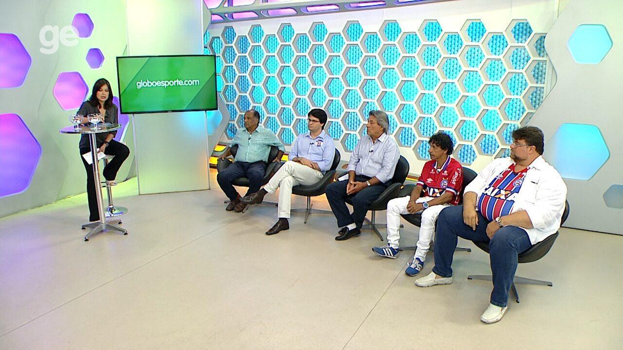 Debate entre candidatos à presidência do Bahia - bloco 1