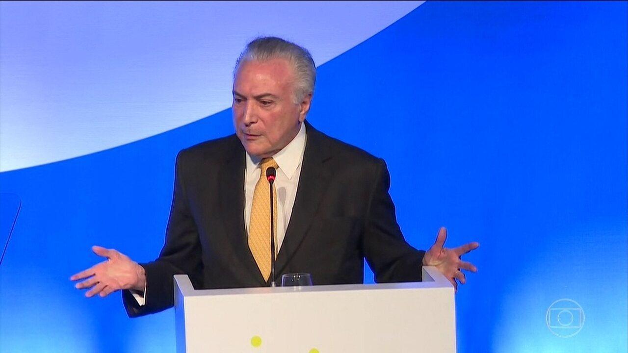 Michel Temer diz que a reforma da Previdência deve ser votada na Câmara a partir de 18/12