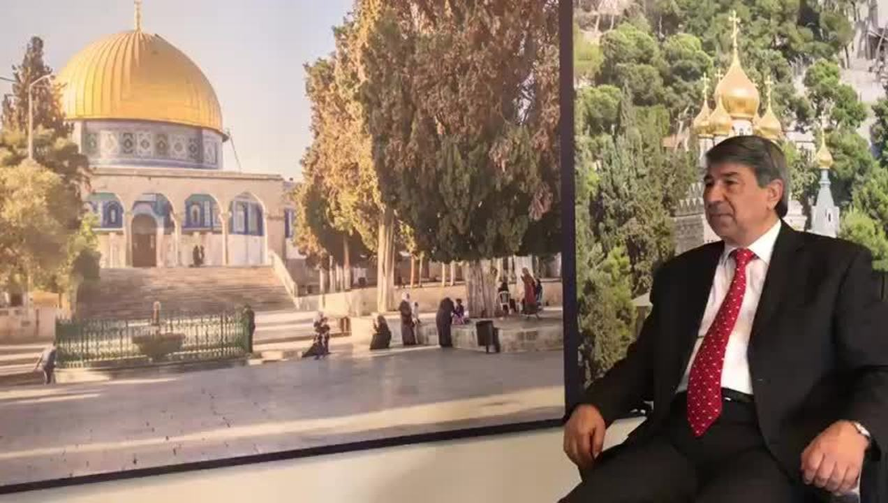 Resultado de imagem para o embaixador da Palestina disse que decisão de Donald Trump é uma 'agressão ao povo palestino'
