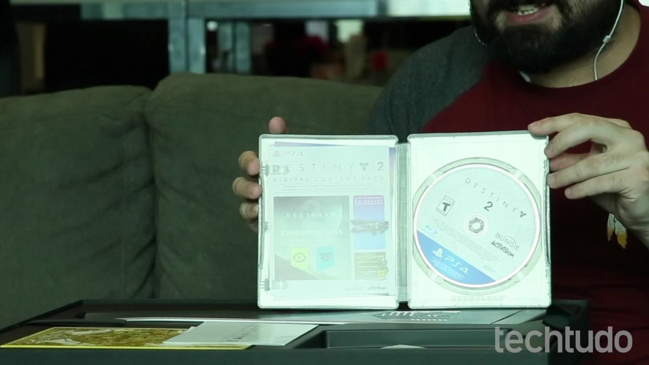 Destiny 2: veja unboxing da edição de colecionador