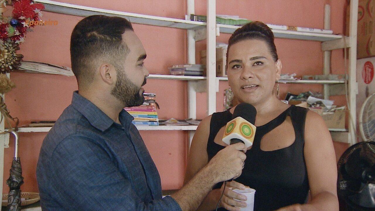 Parte 2: Apresentador faz uma surpresa para a cantora Melany Marinho
