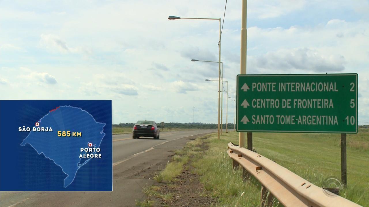 Falta de efetivo é o principal problema nas fronteiras do RS