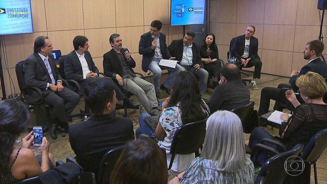 Juristas debatem medidas anticorrupção em São Paulo