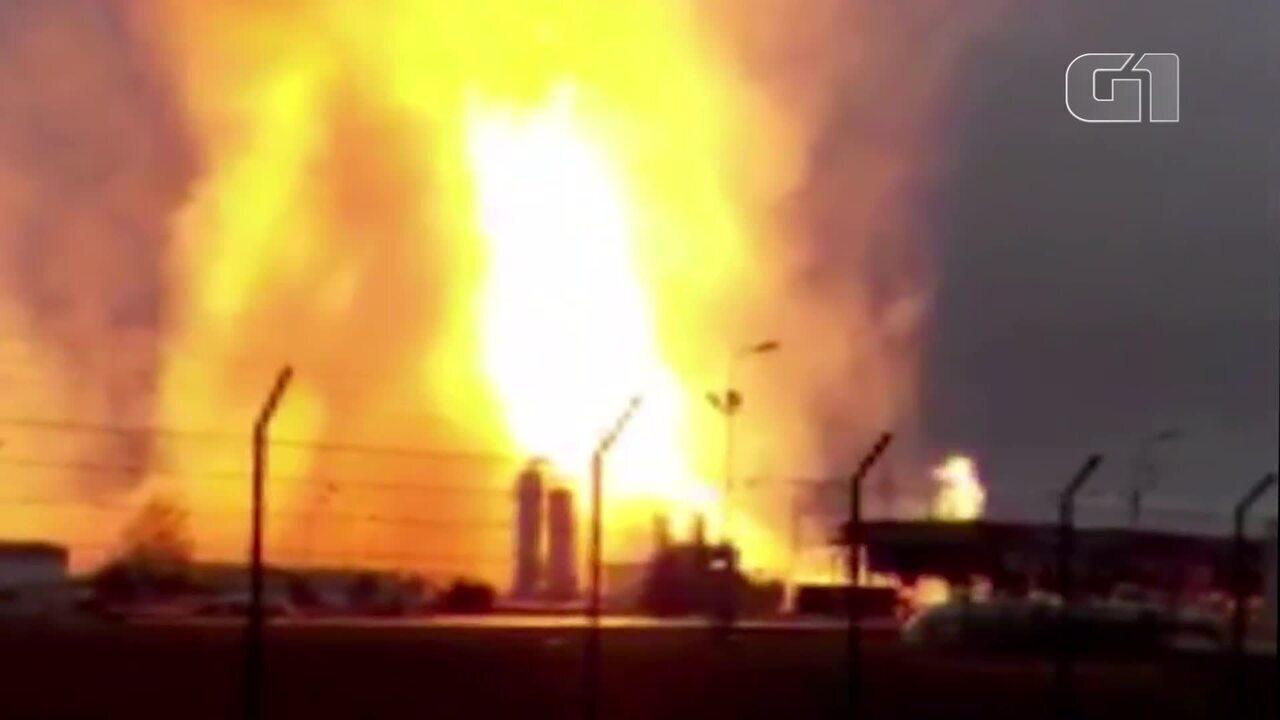 Gasoduto explode e deixa um morto e feridos na Áustria