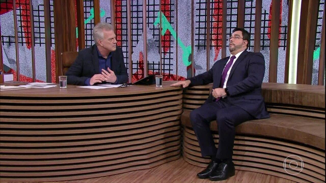 Marcelo Bretas fala sobre acidente que sofreu e convite para participar do 'Conversa'