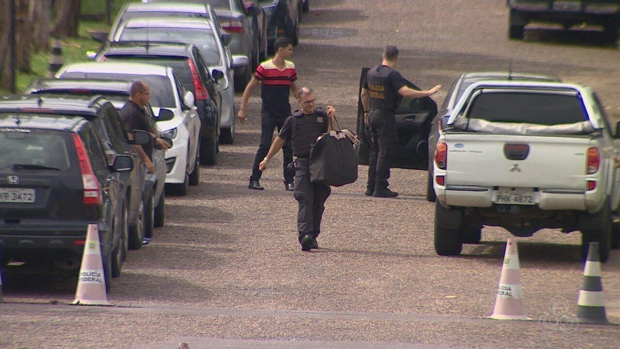 Três ex-secretários do AM são presos em nova fase da operação Maus Caminhos