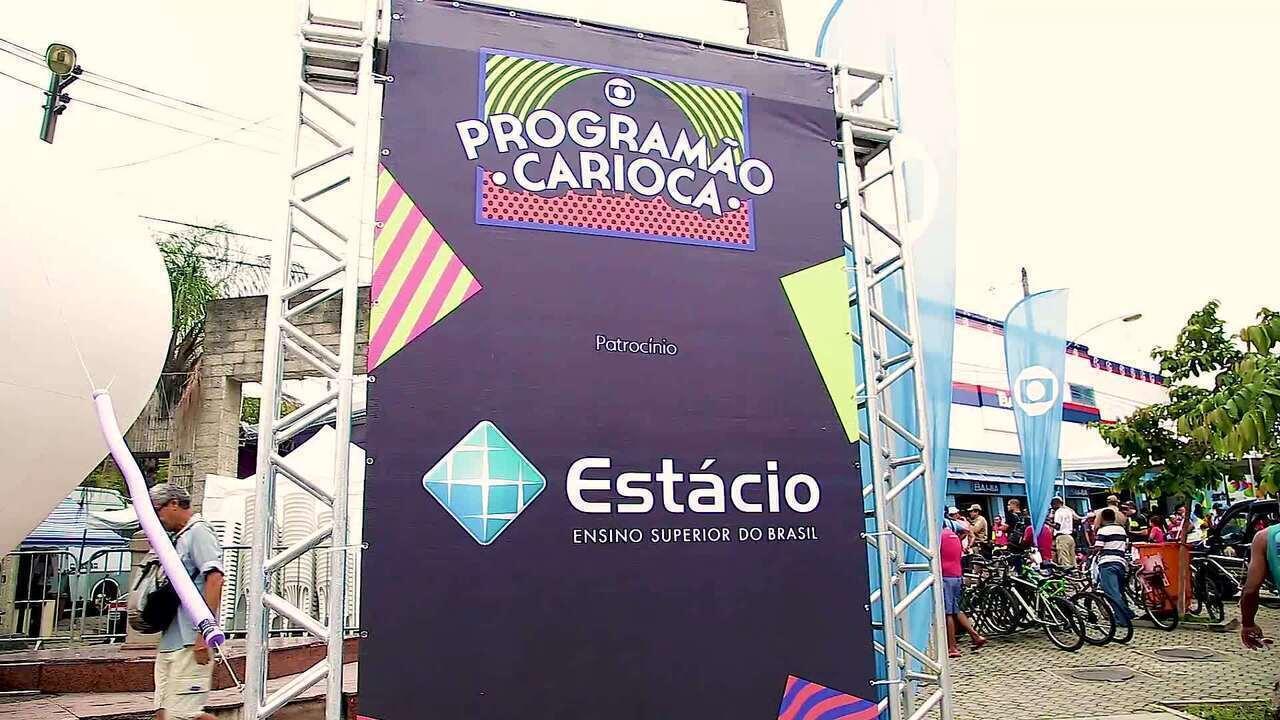 Programão Carioca em Santa Cruz