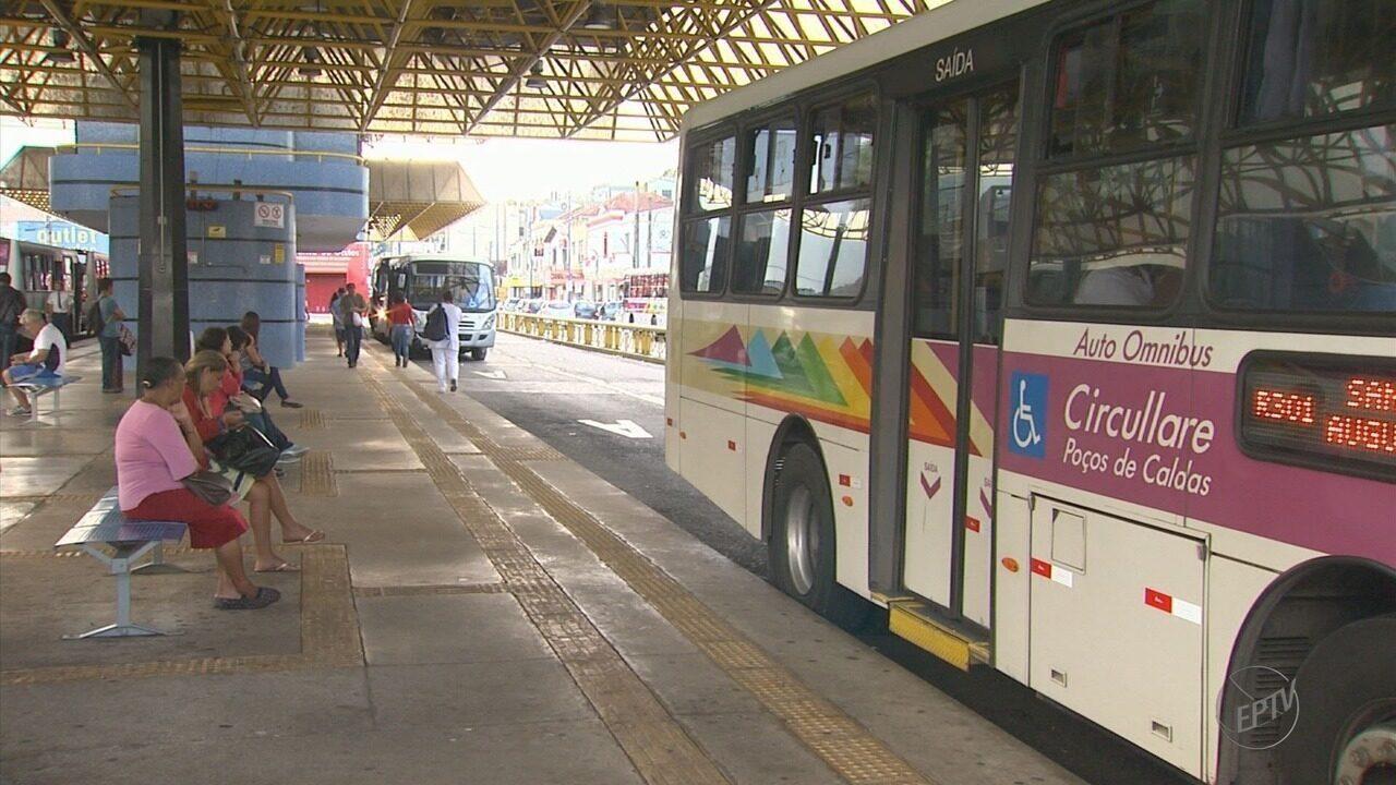 Tarifa de transporte coletivo fica mais cara em Poços de Caldas (MG)