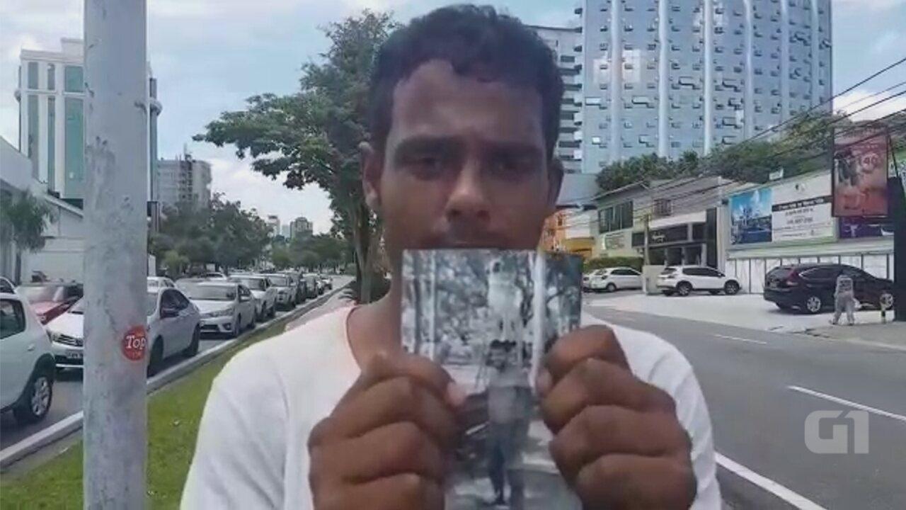 Morador de rua tem apelo divulgado na internet para encontrar cão perdido em Sorocaba