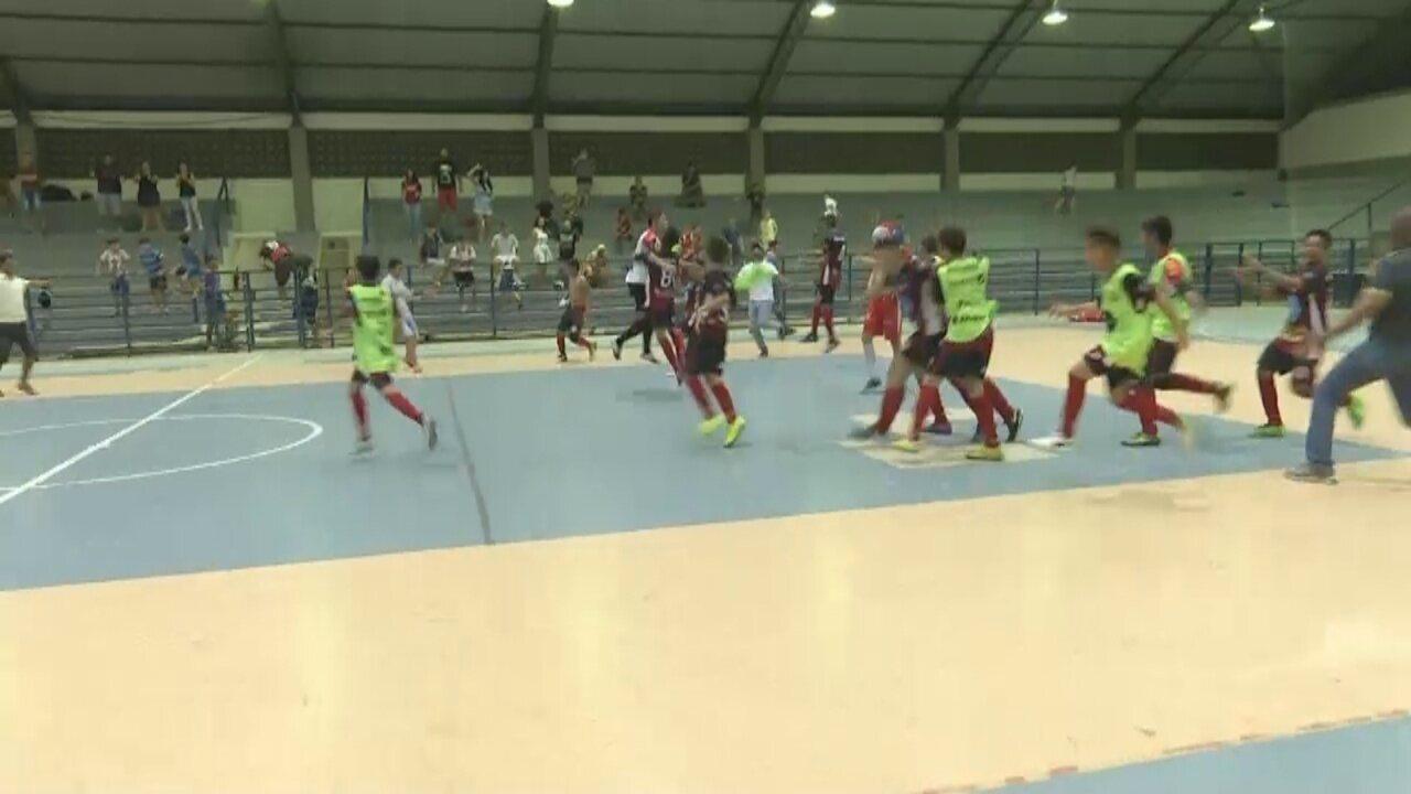 Veja como foi a decisão do Campeonato Roraimense de Futsal Sub-14