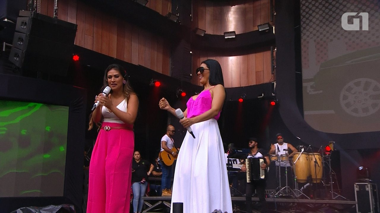 Festival de Verão: Veja os melhores momentos do show de Simone e Simaria