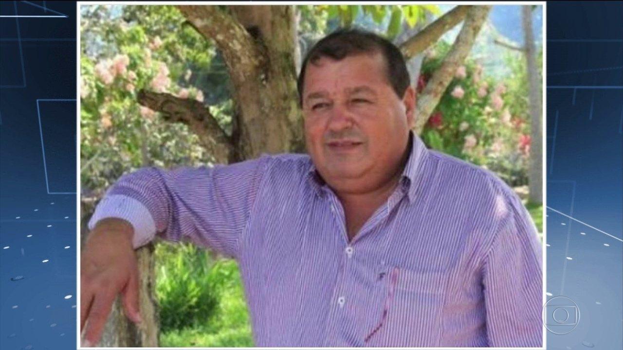 Polícia prende três suspeitos de assassinar o prefeito de Colniza/MT