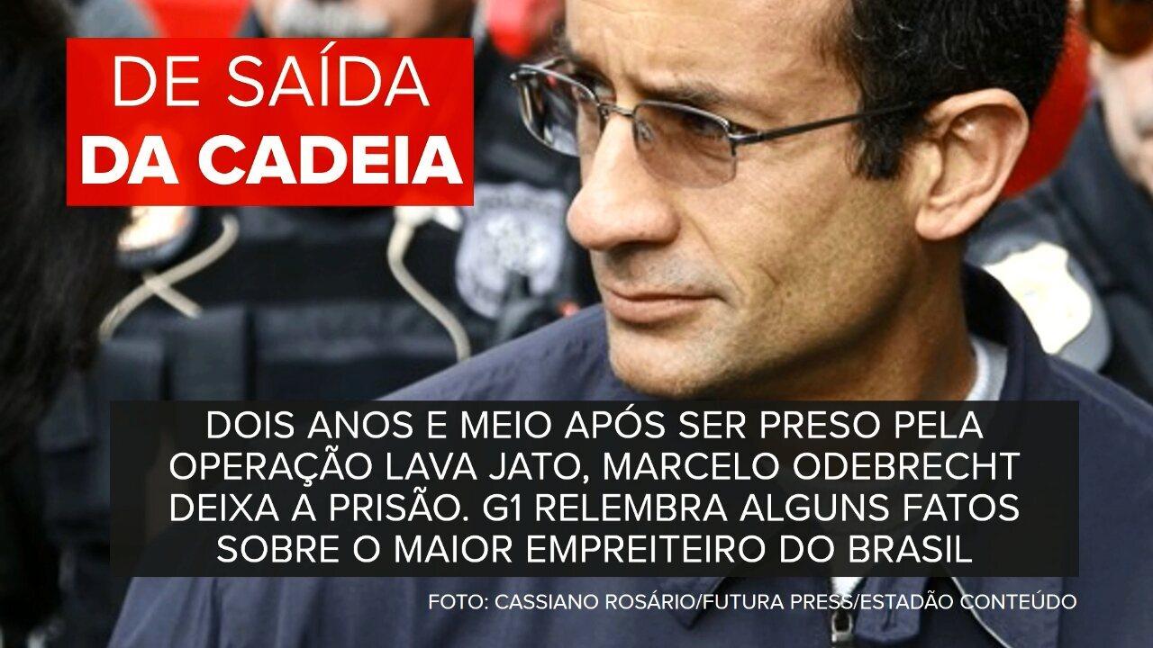 Marcelo Odebrecht deixa a prisão no Paraná