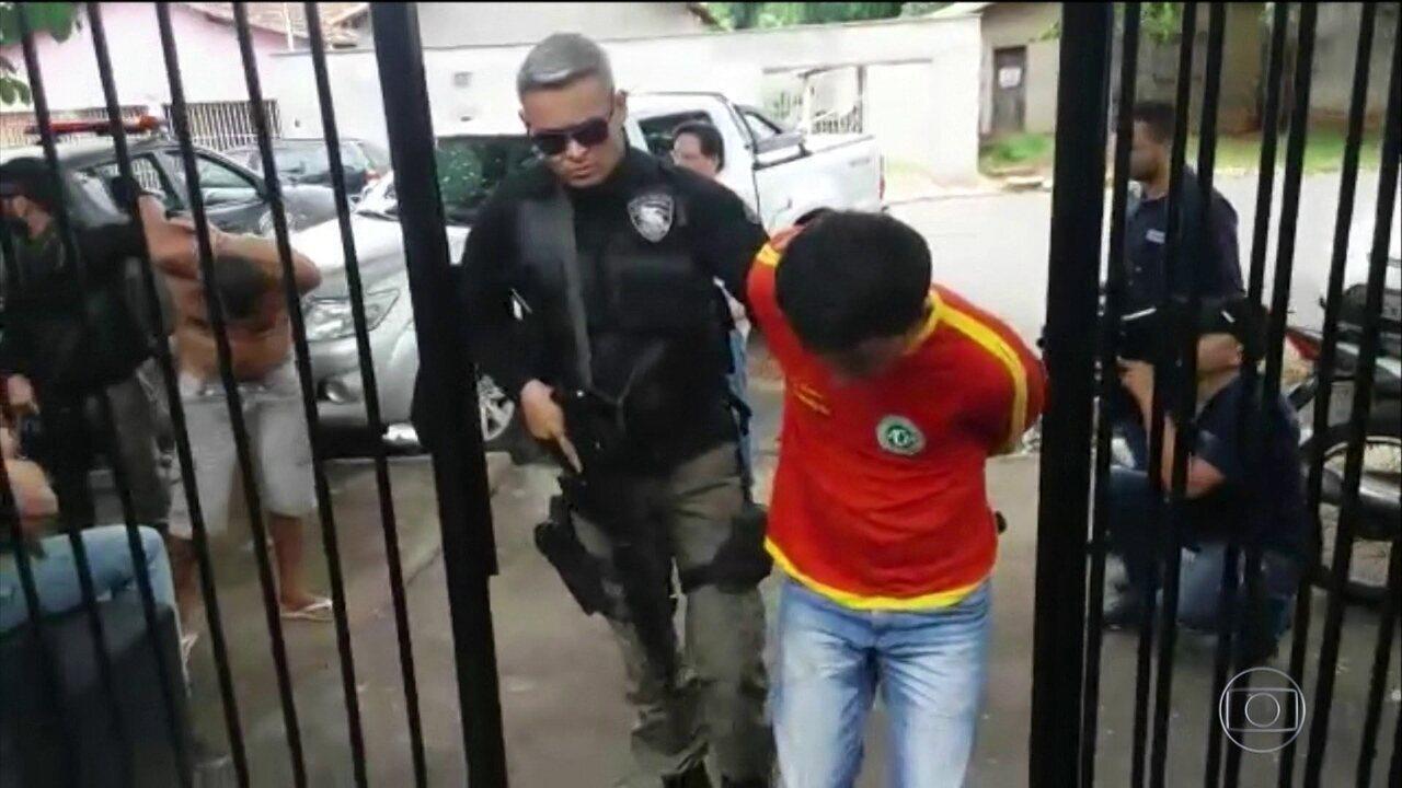 Polícia prende quadrilha acusada de roubar bancos em três estados