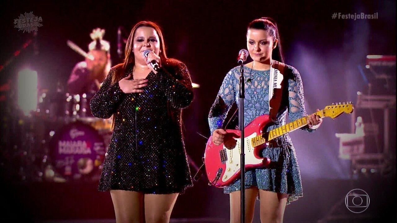 Maiara e Maraisa cantam 'No Dia do Seu Casamento'