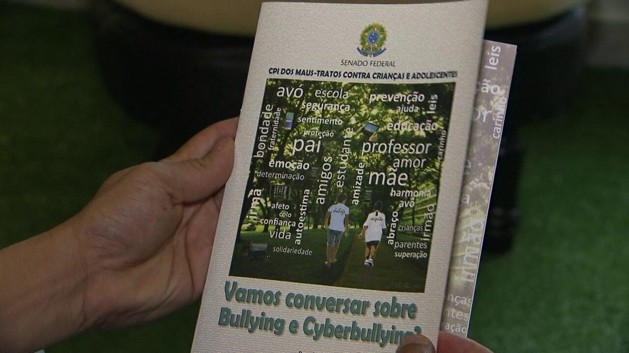 CPI dos Maus Tratos no Senado lança cartilha contra o bullying