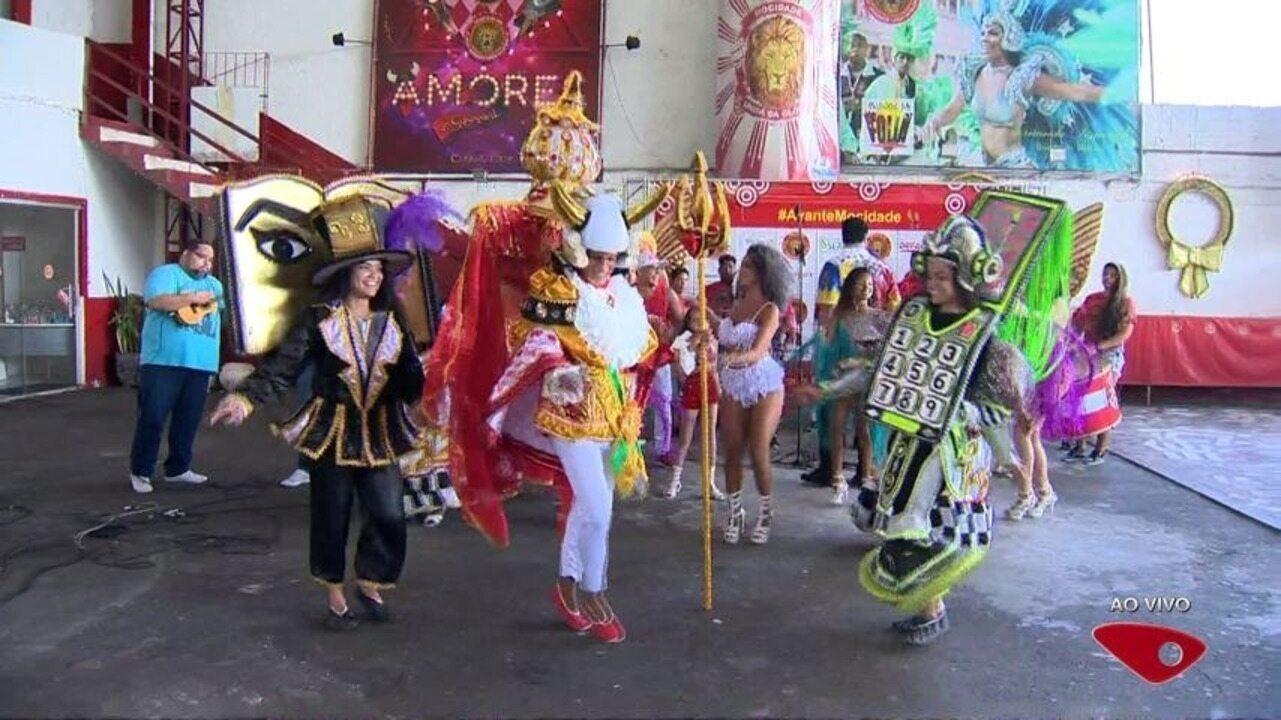 Veja fantasias da MUG que vão brilhar na passarela em Vitória