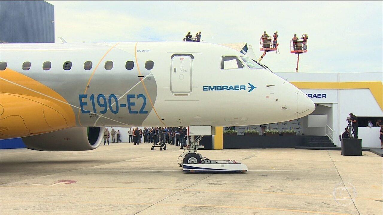 Temer diz que não vai ceder o controle da Embraer para a americana Boeing